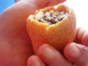 stuffed bulgur shell