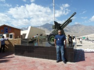 25-pounder artillery piece used in Kargil