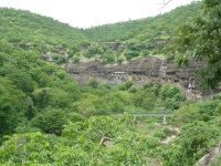Ajanta from a distance