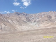The Ladakh desert