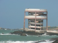 Ugly viewing tower at Kanyakumari