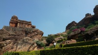 Temple on the way to the fort in Badami 1