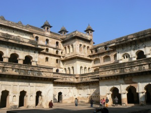 Courtyard of the Raja Mahal