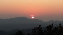 Sunset at Rajendragiri