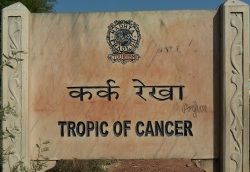 Tropic of Cancer, sponsored by the government of Madhya Pradesh