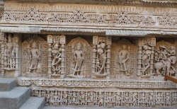 A wall panel at Rani ki Vav