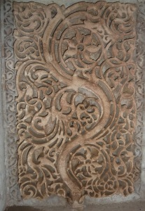 Design on wall at Adalaj 2