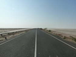 Road to Dholavira