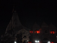 Somnath Temple silhouette