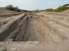 Water reservoir, Dholavira