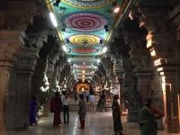 Thousand pillar hall, Meenakshi Amman Kovil