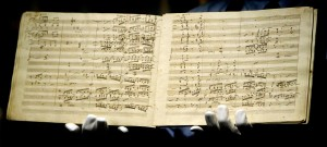 Beethoven's Ninth Symphony Manuscript is sold for ?1.9 Million GBP